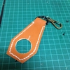 革のペットボトルホルダーを作りました