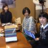 三國万里子さんと動画で編み物会しました