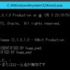 Oracle12cでORA-65096: 共通ユーザーまたはロール名が無効です