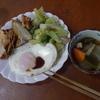 幸運な病のレシピ( 851 )昼:煮しめ、塩サバ