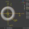 Blender2.92:グローバル座標とローカル座標ー軸・原点ー①