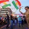 クルド「勝利宣言」混迷深く イラク、国際線封鎖示唆