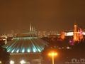 サンルートプラザ東京から見るシンデレラ城とホテルの様子