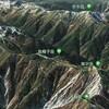 Google Earthで日本二百名山 / 鳥帽子岳 / 赤牛岳 / 針ノ木岳 / 雪倉岳 / 毛勝山