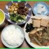 17/04/10の夕食(カレイの煮付)