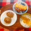 鶏ハンバーグ、鱈おろし煮、玉子焼き、ウィンナー