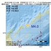 2016年12月09日 12時14分 択捉島付近でM4.0の地震