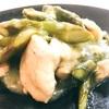 ホットクックレシピ アスパラガスと鶏胸肉炒め