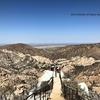 突端はたぶん視界300度 | カリフォルニアのトレッキング