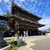 東本願寺のヤギさんたち。