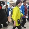 くまモン 15日も名古屋駅に