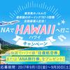 【終了】あなたに運さえあればハワイに行ける!?