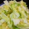 デトックス【1食12円】初夏キャベツの塩サラダの作り方~塩をまぶしたら完成~