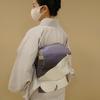【コーディネート例】大きな白猫と紫がポイント!猫コーデ(2月下旬)