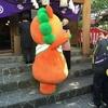 沖縄の初詣:キャラクターもお参りしてた!