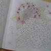 透明水彩で紫陽花を塗ってみる・花日和より