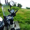 CUB:夏のアウトドアはバイクでCafeツーリングがおいらの定番!