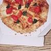 ドイツ亭のピザ