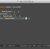 js2-modeを使う - インデントとフォールディング