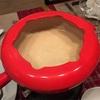 チーズフォンデュを作りました