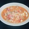 ホットクック 試作レシピ 調味料塩だけ、生トマトでトマトリゾット(1人分)