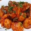 ミステリアスな球体!肉巻き芽キャベツとひらたけのトマト煮