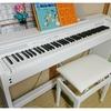 娘ちゃん、ピアノを習って1年。趣味の技術があがるって素敵。うちのキーボードと電子ピアノと、CASIOでいい感じ