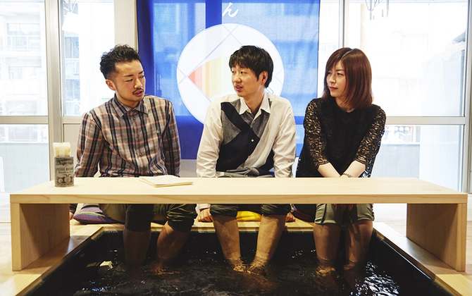 【ここばなVol.20】LGBTとレインボープライドを語る@新宿2丁目 足湯カフェ