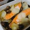 アヒージョ、ひじき煮、スープ