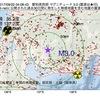 2017年09月22日 04時08分 愛知県西部でM3.0の地震