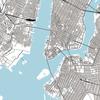 NY の地図を作ったので置いておきます