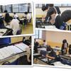 ★Campus Report★ ある日の授業風景(書道)