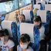 4年生:校外学習① バスで常滑へ