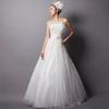 白鳥のようなホワイトカラーのステージドレスを買われたお客様の体験談