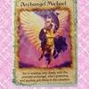 今日のカード*大天使ミカエル、直感に耳を傾けてください