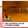 練習紹介:1球シングルス