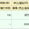 IPO リビン・テクノロジー(4445)の結果