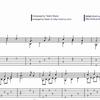 4)楽譜とTAB譜の違い