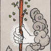 タロットのワンド(杖、こん棒)の意味