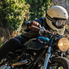 カッコイイバイクにはカッコイイヘルメットですよね!EX-ZEROは様々なバイクに合うおすすめヘルメット