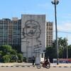 キューバ ハバナ編 (7) 革命広場とホセマルティ博物館観光、P12(空港近くにも行く路線)のカミオンの乗り方。