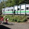 【札沼線部分廃止】ガラガラの列車に手を振る新十津川の子供たちへ思いを馳せる。(2015.9.15)