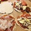 生活クラブの強力粉とケチャップを使って手作りピザ。