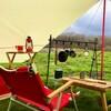 赤好き必見!【赤いキャンプ道具一覧】お勧めの赤・ベージュのキャンプギア・テント・タープ