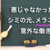 「シミ」=「メラニン」=「悪」じゃなかった? メラニンの大切な役割とは・・・?
