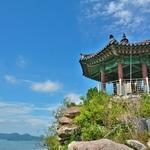 「儒達山(ユダルサン)」~木浦(モッポ)市内の美しい海と島々を一望出来る山へ、トレッキング!!
