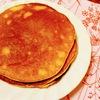 しっとりふんわりのホットスイーツ~バナナときな粉のパンケーキ