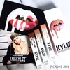 Kylie cosmetics  Lip kit / Candy K  Gloss / LITERALLY  Metal lip / KING K,REIGN Swatch