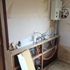 キッチン解体・浴室天井と床ぶち抜いて鉄管外した