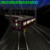 阪急電車、ズレてる。